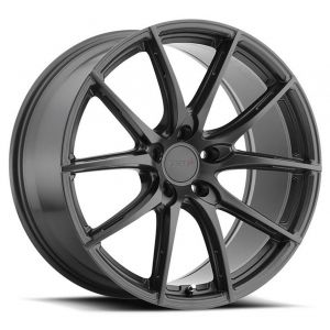 - Staggered full Set -(2) 18x8.5 TSW Sprint Gloss Gunmetal(2) 18x9.5 TSW Sprint Gloss Gunmetal
