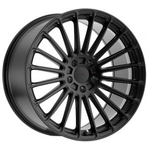 18x9.5 TSW Turbina Matte Black (Rotary Forged)