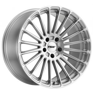 22x11 TSW Turbina Titanium Silver w/ Mirror Cut Face (Rotary Forged)