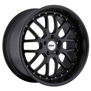 20x8.5 TSW Valencia All Matte Black