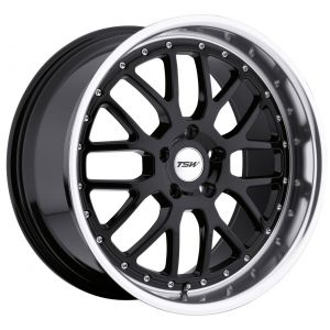 19x9.5 TSW Valencia Gloss Black w/ Mirror Lip