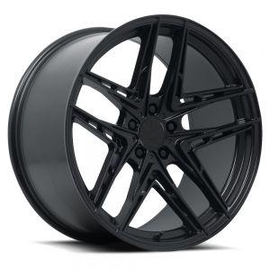 20x9 VERDE V12 INCISE (Gloss Black)