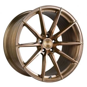 - Staggered full Set -(2) 19x9.5 Vertini RF1.1 Brushed Bronze (Rotary Forged)(2) 20x10.5 Vertini RF1.1 Brushed Bronze (Rotary Forged)
