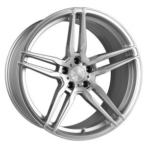 20x10.5 Vertini RF1.6 Brushed Silver Machine (Rotary Forged)