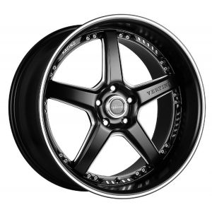 20x9 Vertini Drift Matte Black