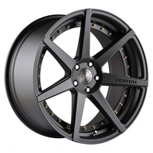 - Staggered full Set -(2) 19x8.5 Vertini Dynasty All Slate Grey(2) 19x9.5 Vertini Dynasty All Slate Grey