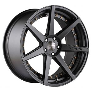 - Staggered full Set -(2) 20x9 Vertini Dynasty All Slate Grey(2) 20x10.5 Vertini Dynasty All Slate Grey