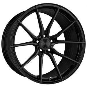 - Staggered full Set -(2) 18x8 Vertini RF1.2 Gloss Black (Rotary Forged)(2) 19x10 Vertini RF1.2 Gloss Black (Rotary Forged)