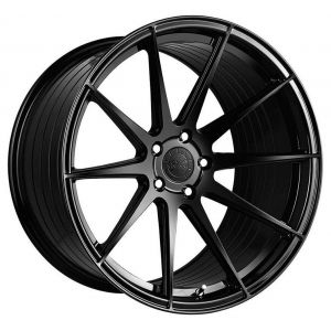 20x10.5 Vertini RF1.3 Gloss Black (Rotary Forged)