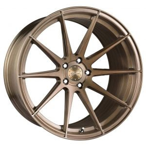 20x10.5 Vertini RF1.3 Brushed Bronze (Rotary Forged)