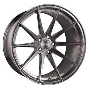 20x10.5 Vertini RF1.3 Brushed Titanium (Rotary Forged)