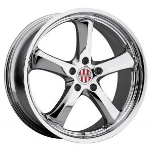 19x8 Victor Equipment Turismo Chrome