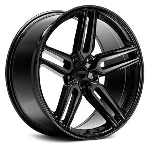 22x11 Vossen Hybrid Forged HF-1 Tinted Gloss Black (Flow Formed)