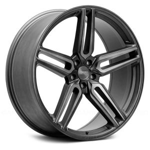22x11 Vossen Hybrid Forged HF-1 Tinted Matte Gunmetal (Flow Formed)