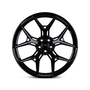 22x10 Vossen HF-5 Gloss Black (Hybrid Forged)