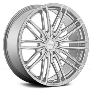 20x10 Vossen VFS4 Gloss Silver Metallic (Flow Formed)