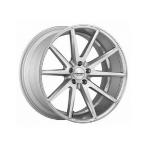 22x9 Vossen VFS1 Gloss Silver Brushed Face (Flow Formed)
