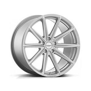 Staggered full Set -(2) 20x9.5 Vossen VFS10 Metallic Silver (Flow Formed)(2) 20x10.5 Vossen VFS10 Metallic Silver (Flow Formed)