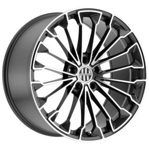 22x10.5 Victor Equipment Wurttemburg Gunmetal w/ Mirror Cut Face (Rotary Forged)
