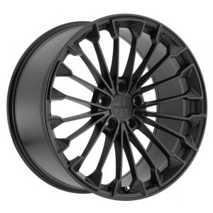 22x11 Victor Equipment Wurttemburg Matte Black w/ Gloss Black Face (Rotary Forged)