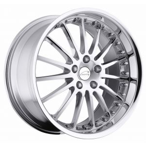 - Staggered full Set -(2) 18x8.5 Coventry Whitley Chrome(2) 18x9.5 Coventry Whitley Chrome