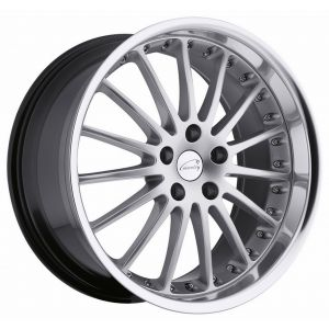 17x8 Coventry Whitley Hypersilver