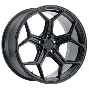 - Staggered full Set - (2) 19x8.5 XO Helsinki Matte Black(2) 19x10 XO Helsinki Matte Black