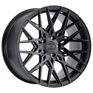 22x10.5 XO Phoenix Matte Black w/ Gloss Black Face (Rotary Forged)
