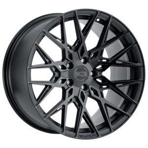 22x11 XO Phoenix Matte Black w/ Gloss Black Face (Rotary Forged)