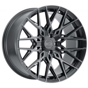 19x9.5 XO Phoenix Gunmetal w/ Brushed Gunmetal Face (Rotary Forged)