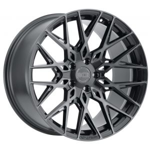 22x10.5 XO Phoenix Gunmetal w/ Brushed Gunmetal Face (Rotary Forged)
