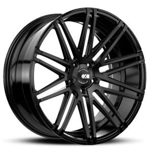 19x8.5 XO Milan All Matte Black