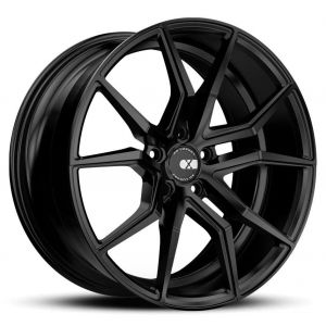 - Staggered full Set - (2) 20x10 XO Verona All Matte Black(2) 20x11 XO Verona All Matte Black
