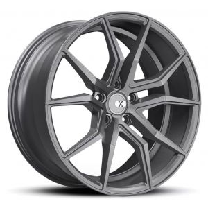 19x8.5 XO Verona All Matte Gunmetal