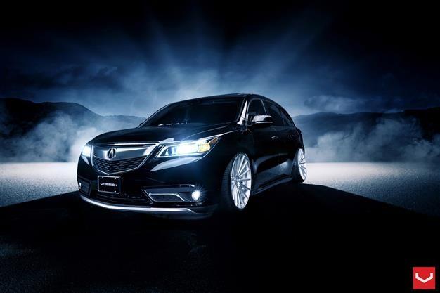 Vossen Hybrid Forged Series on Acura MDX