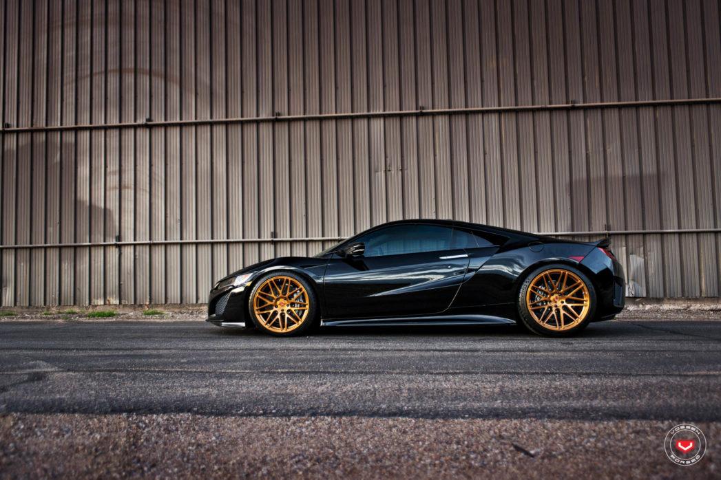 Vossen Forged: Precision Series on Acura NSX