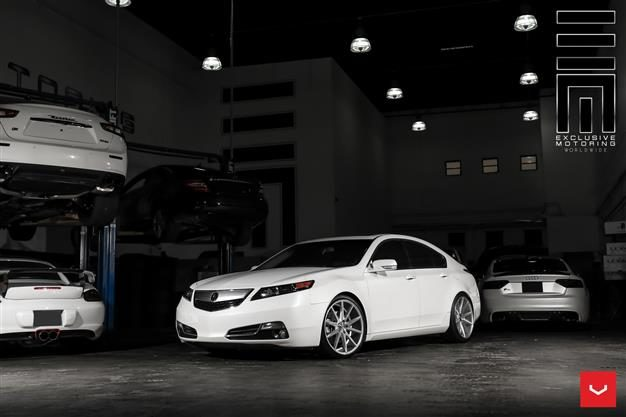 Vossen Hybrid Forged Series on Acura TL