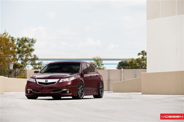 Vossen CV Series on Acura TL