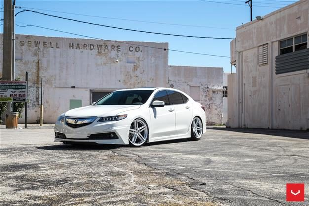 Vossen Hybrid Forged Series on Acura TLX