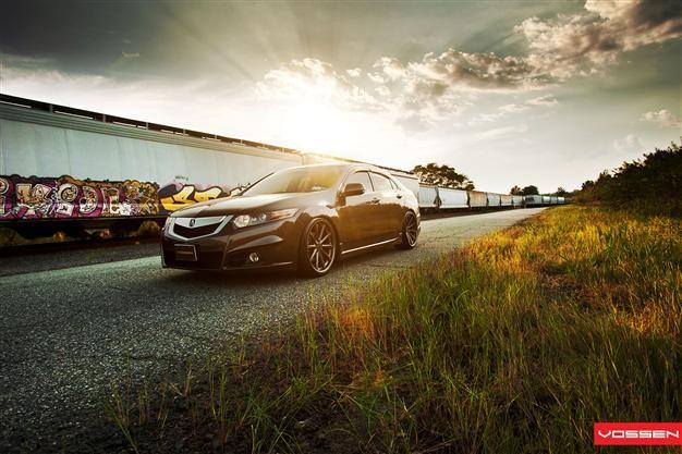 Vossen CV Series on Acura TSX