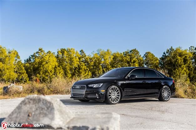 Vossen Hybrid Forged Series on Audi A4 | S4 | RS4