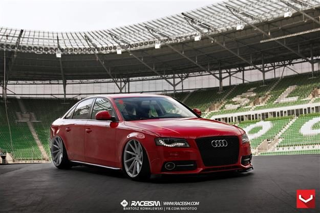 Vossen CV Series on Audi A4 | S4 | RS4