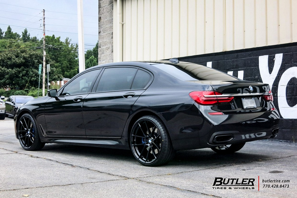Beyern Beyern Ritz Wheel on BMW 750i