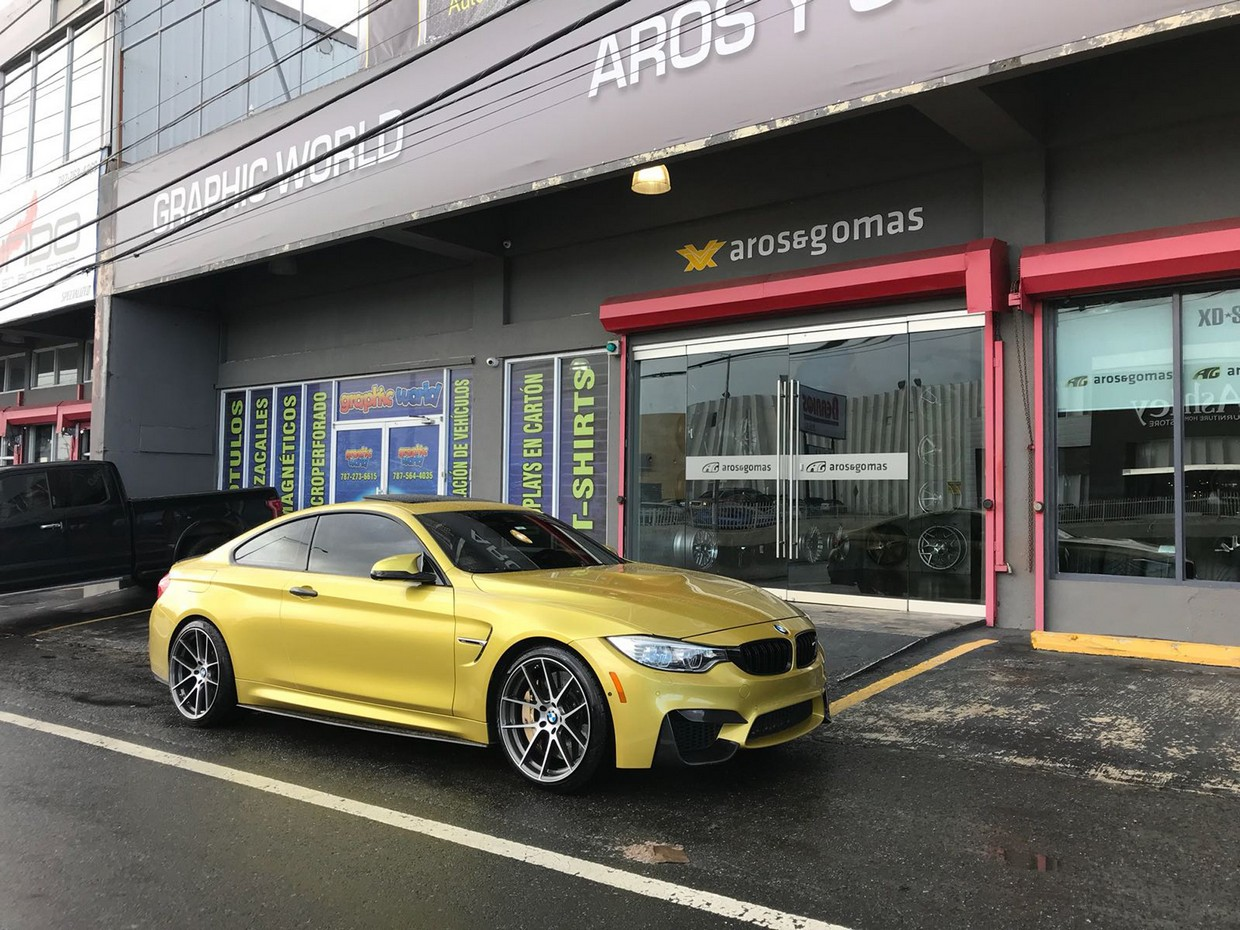 Beyern Beyern Ritz Wheel on BMW M4