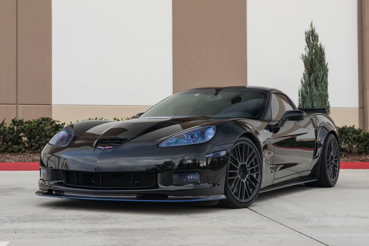 Cray Cray Astoria Wheels on Chevrolet Corvette C6