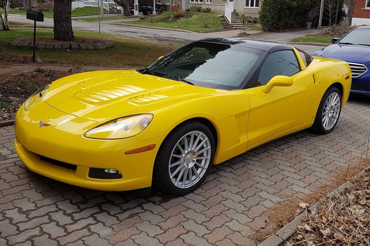 Cray Cray Mako Wheels on Chevrolet Corvette C6
