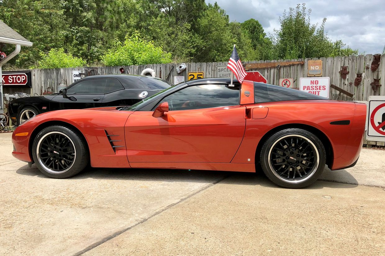 Cray Cray Manta Wheels on Chevrolet Corvette C6
