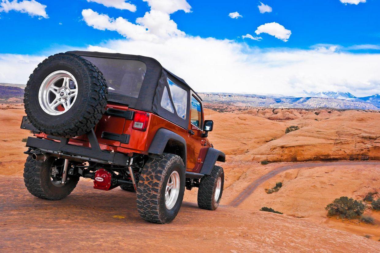 Level 8 Level 8 Strike 5 Wheels on Jeep Wrangler