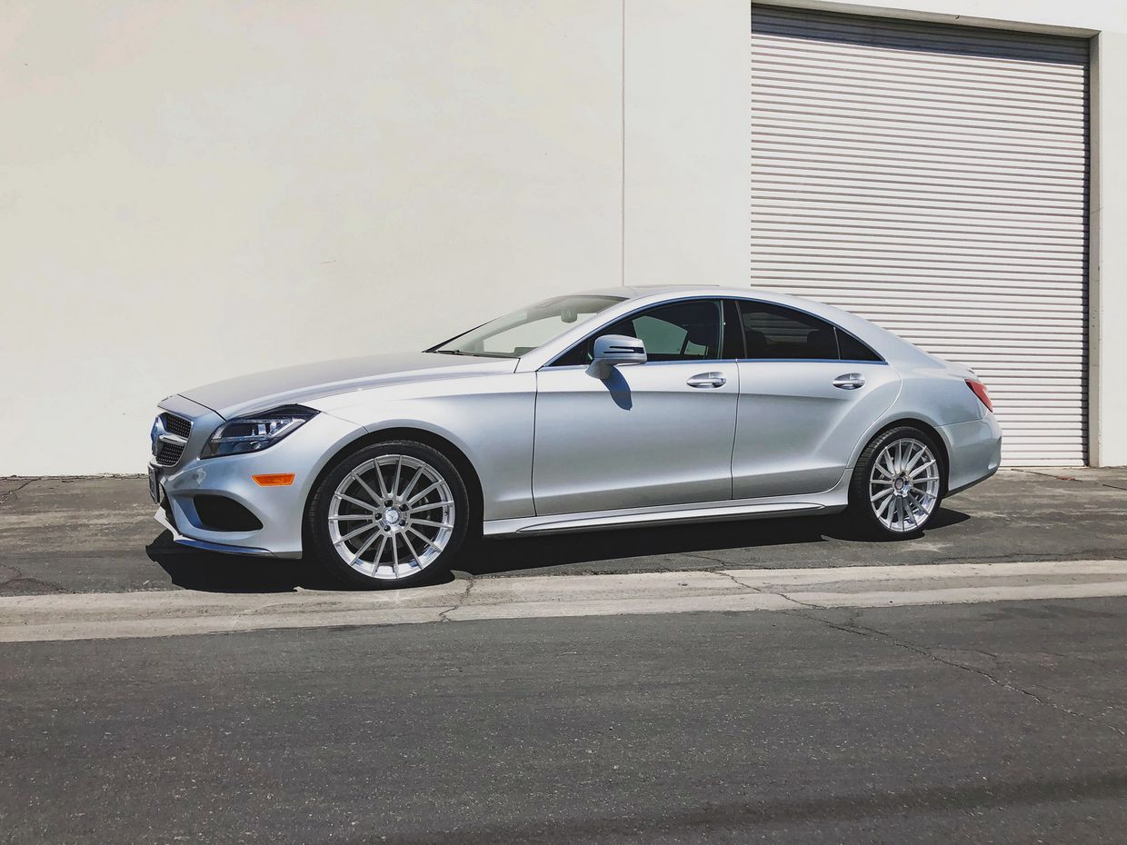 Mandrus Mandrus Stirling Wheels on Mercedes Benz CLS Class