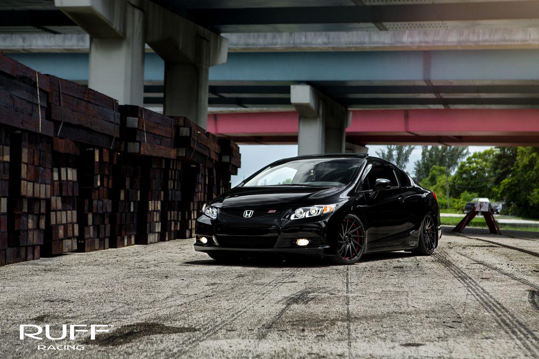 Ruff Ruff Wheels on Honda Civic SI